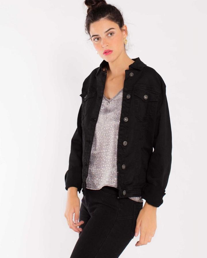 chaqueta vaquera con borrego mujer